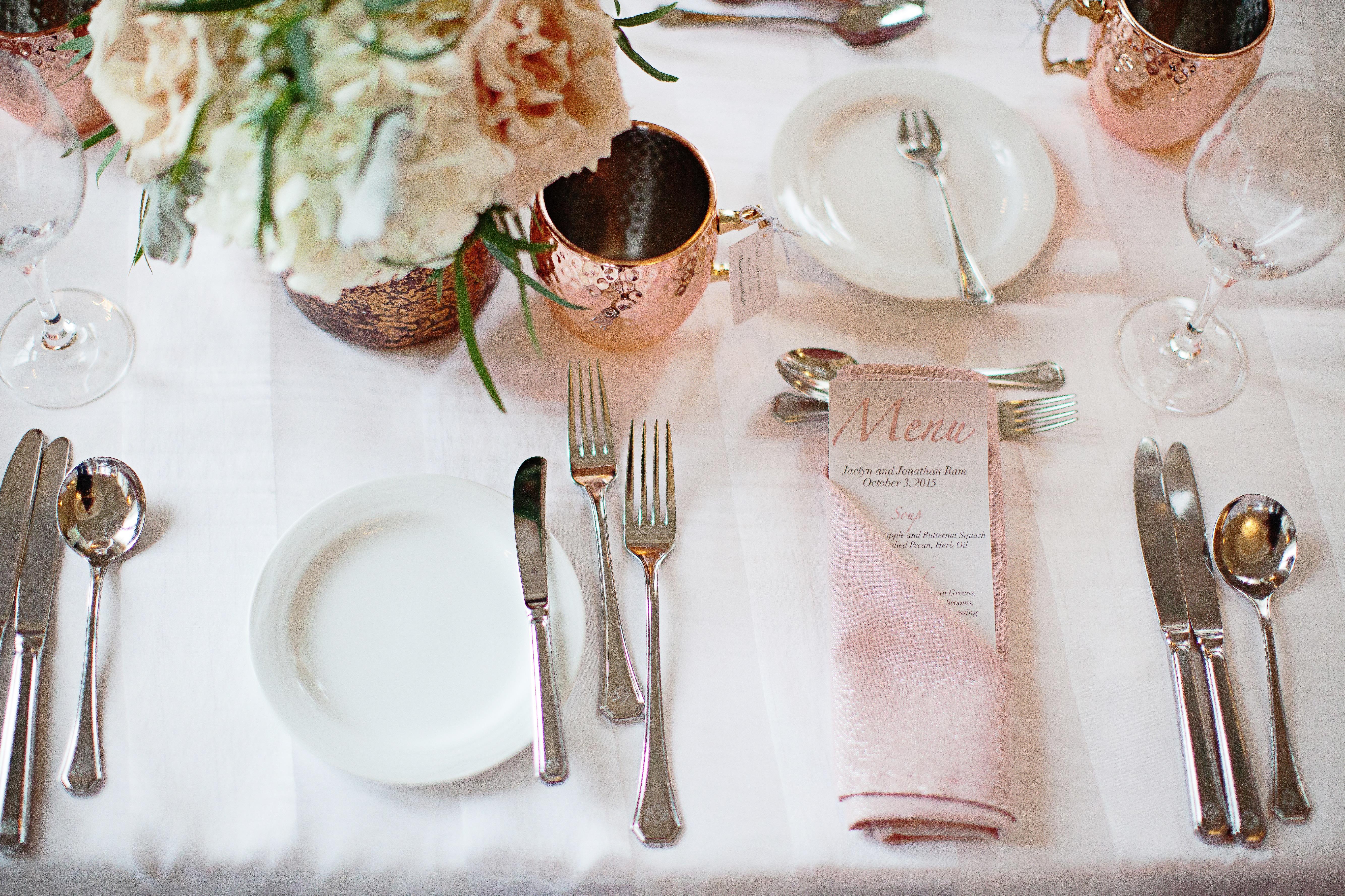 pink-napkin-copper-mug