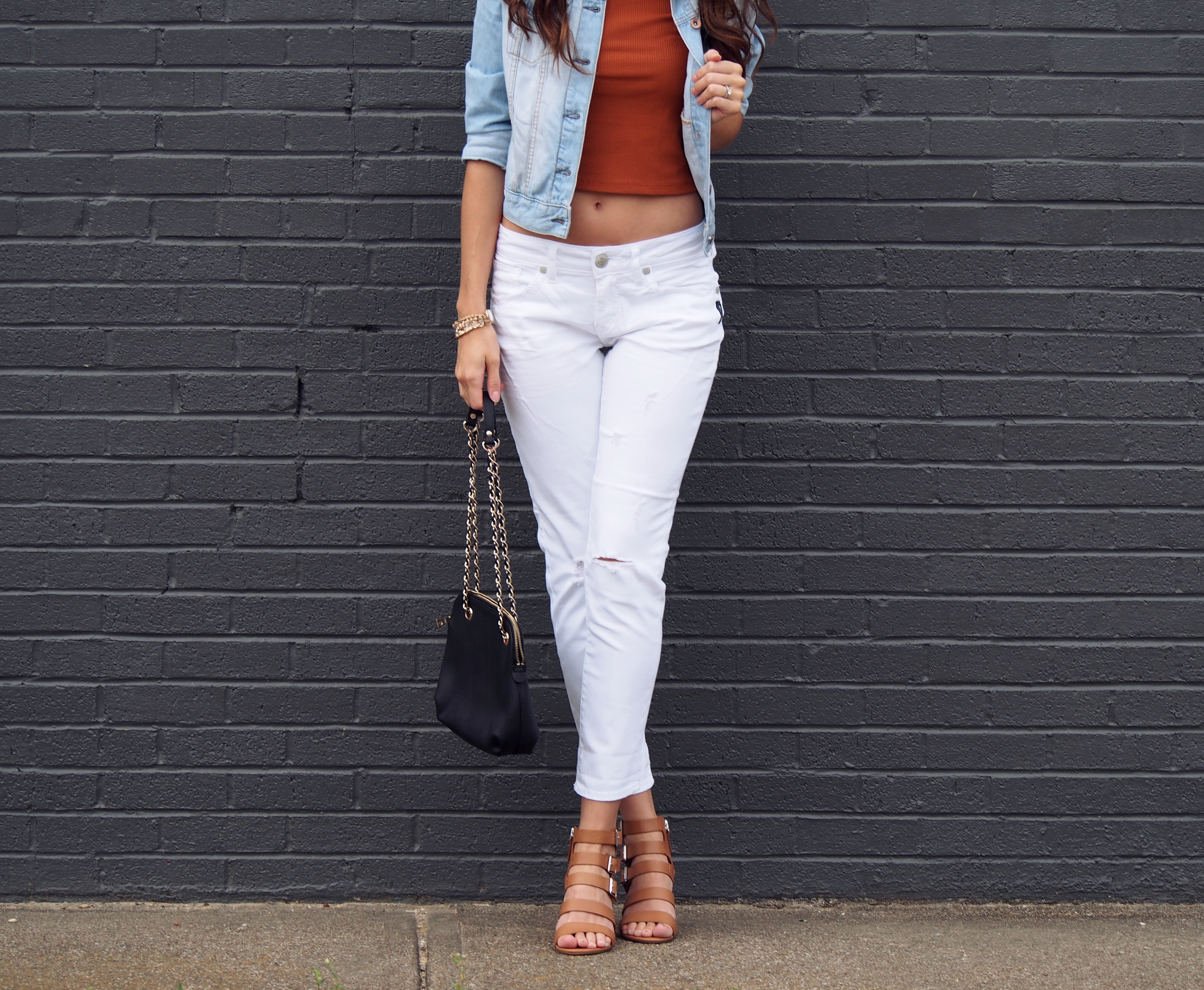 White Boyfriend Jeans » My View in Heels
